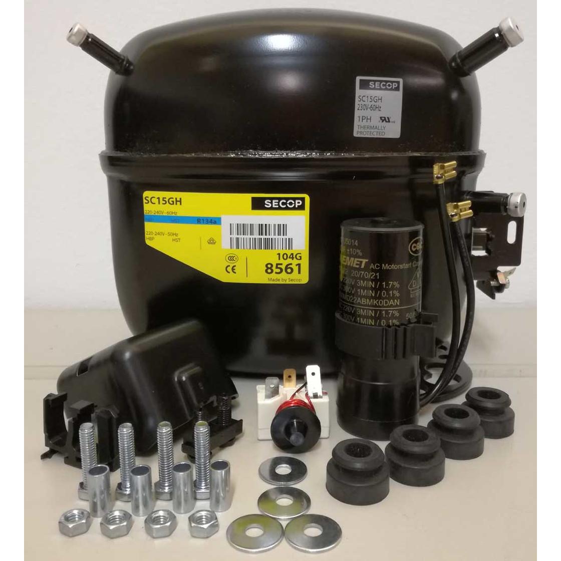 Danfoss Sc15g Compressor Wiring Diagram  Embraco Compressor Wiring